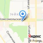 Археологический музей на карте Новомосковска