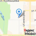Лицей на карте Новомосковска