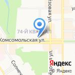 Дочки-матери на карте Новомосковска
