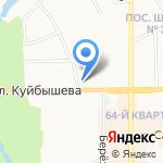 ТНБ на карте Новомосковска