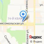 Каприз на карте Новомосковска