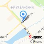 ПиР на карте Новомосковска