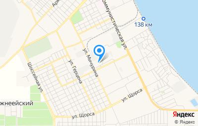 Местоположение на карте пункта техосмотра по адресу Краснодарский край, г Ейск, ул Красная, д 70/1