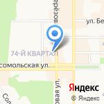 Qiwi на карте Новомосковска