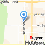 CDEK на карте Новомосковска