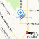 Пункт приема коммунальных платежей на карте Новомосковска