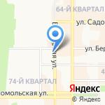 Галерея Холл на карте Новомосковска