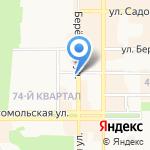 Модный базар на карте Новомосковска