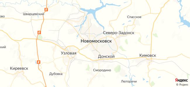6 маршрутка в Новомосковске
