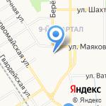 Лидер на карте Новомосковска