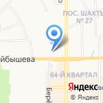 Shell на карте Новомосковска