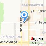 ТЗСК на карте Новомосковска