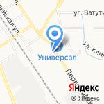 Инспекция гостехнадзора Новомосковского района на карте Новомосковска
