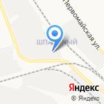 АКВА ПРОФ экспресс на карте Новомосковска