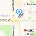 Теплофон на карте Новомосковска