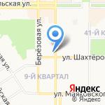 Прикосновение на карте Новомосковска