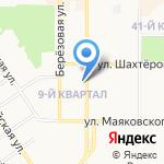 Арбитражный управляющий Карпенко И.А. на карте Новомосковска