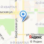 Колибри на карте Новомосковска