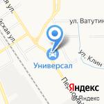 Автоленд на карте Новомосковска