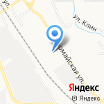 Подземметаллзащита на карте Новомосковска