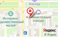 Схема проезда до компании Салон цветов в Новомосковске