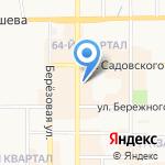 Интерия на карте Новомосковска