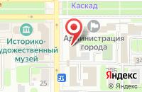 Схема проезда до компании Faberlic в Новомосковске