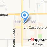 Цифровая точка на карте Новомосковска