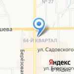 Лоджикон на карте Новомосковска