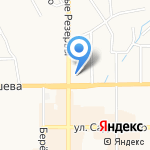 Лион на карте Новомосковска