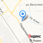 Clean авто на карте Новомосковска
