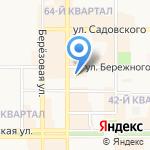 Новомосковский городской суд на карте Новомосковска