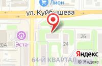 Схема проезда до компании Ваши Двери в Новомосковске