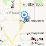 Надежный сотрудник на карте Новомосковска
