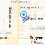 Бриз на карте Новомосковска