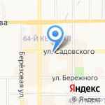 Лидер потолков на карте Новомосковска