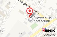 Схема проезда до компании Администрация Ахтырского городского поселения в Ахтырском