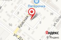 Схема проезда до компании Детский сад №10 в Ахтырском