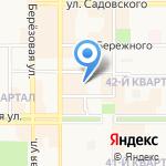 Теле-видео на карте Новомосковска