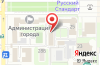 Схема проезда до компании Шерлок в Новомосковске