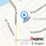 Придонье на карте Новомосковска