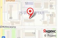 Схема проезда до компании Жилищник в Новомосковске