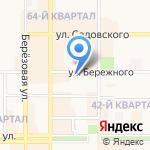 Университет Российского инновационного образования на карте Новомосковска
