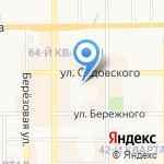 Территориальный отдел Министерства труда и социальной защиты Тульской области на карте Новомосковска