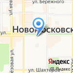 Эффект на карте Новомосковска