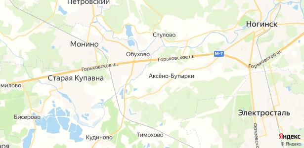Афанасово-1 на карте