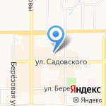 Кокетка+ на карте Новомосковска