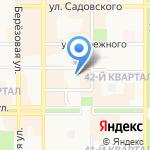 НТК на карте Новомосковска