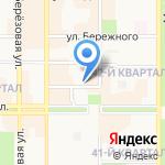 Деловой посредник на карте Новомосковска