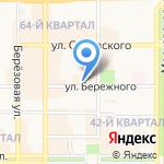 Кадриль на карте Новомосковска